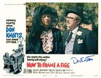 9r054 HOW TO FRAME A FIGG signed LC #8 '71 by Don Knotts, who's in drag with suspicious Joe Flynn!