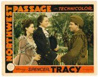 9r057 NORTHWEST PASSAGE signed LC '40 by Robert Young, who's with Spencer Tracy & Ruth Hussey!
