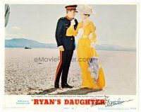 9r060 RYAN'S DAUGHTER signed LC #4 '70 by Robert Mitchum, Sarah Miles & Christopher Jones on beach!
