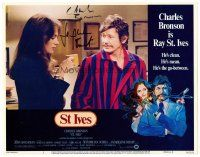 9r067 ST. IVES signed LC #1 '76 by BOTH Charles Bronson AND sexy Jacqueline Bisset!