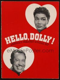 9r009 HELLO DOLLY signed program '67 by Cab Calloway, Michael Stewart AND Gower Champion!