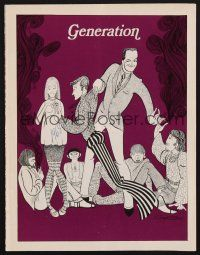 9r016 ROBERT CUMMINGS signed program '68 when he appeared in the stage production Generation!