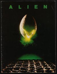 9r003 ALIEN signed program '79 by BOTH Dan O'Bannon AND Ron Cobb, who did the special effects!