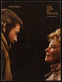 9r011 ANTHONY HOPKINS signed program '67 lots of cool images from The Lion in Winter!