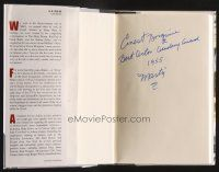 9w011 ERNEST BORGNINE signed hardcover book '08 Ernie: The Autobiography!
