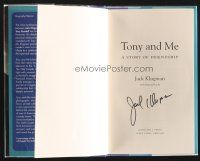 9w008 JACK KLUGMAN signed book + DVD '05 Tony and Me: A Story of Friendship + Odd Couple outtakes!