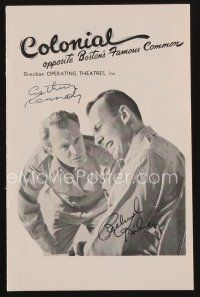 9w047 TIME LIMIT signed playbill '55 by Arthur Kennedy, Richard Kiley, and eight others!