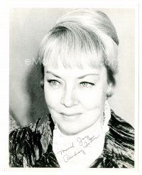 9z233 AUDREY TOTTER signed 8x10 REPRO still '80s head & shoulders portrait late in her career!