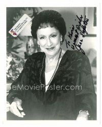 9z255 JEAN STAPLETON signed 8x10 REPRO still '80s smiling portrait of the All in the Family actress!