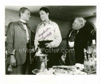 9z274 ORSON WELLES signed 8x10 REPRO still '80s great image of the star from Citizen Kane!