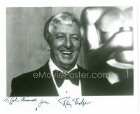 9z278 RAY BOLGER signed 8x10 REPRO still '80s great smiling portrait in tuxedo late in his career!
