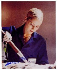 9z244 EMILY PROCTER signed color 8x10 REPRO still '02 great image of the CSI: Miami star!