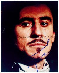 9z248 GABRIEL BYRNE signed color 8x10 REPRO still '00s head & shoulders portrait of the actor!