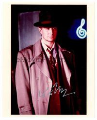 9z249 GARY OLDMAN signed color 8x10 REPRO still '00s great portrait from The Professional!