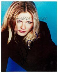 9z262 KIRSTEN DUNST signed color 8x10 REPRO still '02 waist-high portrait of the sexy star!
