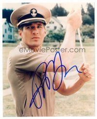 9z281 RICHARD GERE signed color 8x10 REPRO still '00s close portrait from Officer and a Gentleman!