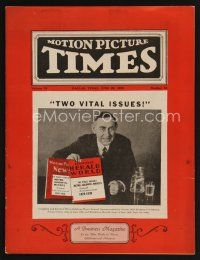 9z065 MOTION PICTURE TIMES exhibitor magazine June 29, 1929 producers announce 1929-30 releases!