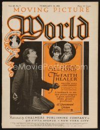 9z061 MOVING PICTURE WORLD exhibitor magazine February 26, 1921 Buster Keaton, Ruth Roland + more!
