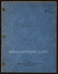 9z121 FLAME OF ARABY script September 28, 1950, screenplay by Gerald Drayson Adams, Wildfire!