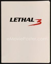 9z136 LETHAL WEAPON 3 revised draft script September 6, 1991, screenplay by Jeffrey Boam!