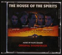 9z292 HOUSE OF THE SPIRITS soundtrack CD '94 original score by Hans Zimmer!