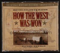 9z293 HOW THE WEST WAS WON soundtrack CD '97 original score by Alfred Newman!