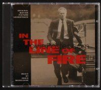 9z294 IN THE LINE OF FIRE soundtrack CD '93 original score by Ennio Morricone!