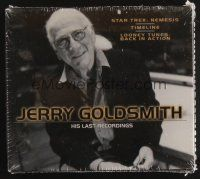 9z296 JERRY GOLDSMITH: HIS LAST RECORDINGS compilation CD '07 Star Trek: Nemesis, Timeline + more!
