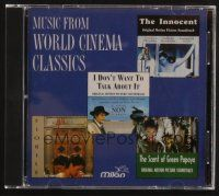 9z298 MUSIC FROM WORLD CINEMA CLASSICS compilation CD '94 Fiorile, Scent of Green Papaya + more!