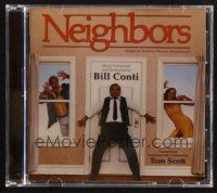 9z300 NEIGHBORS limited edition soundtrack CD '07 original score by Bill Conti & Tom Scott!