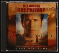 9z309 PATRIOT soundtrack CD '00 original score composed & conducted by John Williams!