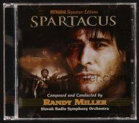 9z318 SPARTACUS limited edition TV soundtrack CD '05 original score by Randy Miller!