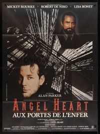 1b010 ANGEL HEART French 1p '87 Robert DeNiro, Mickey Rourke, directed by Alan Parker!