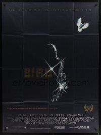 1b017 BIRD French 1p '88 directed by Clint Eastwood, biography of jazz legend Charlie Parker!