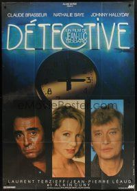 1b041 DETECTIVE French 1p '85 directed by Jean-Luc Godard, Claude Brasseur, Nathalie Baye