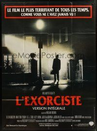 1b050 EXORCIST French 1p R00 William Friedkin, Max Von Sydow, William Peter Blatty horror classic!