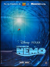 1b056 FINDING NEMO advance French 1p '03 Disney & Pixar animated fish movie, great cartoon image!