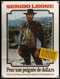 1b057 FISTFUL OF DOLLARS French 1p R70s Sergio Leone, Clint Eastwood is the most dangerous man!