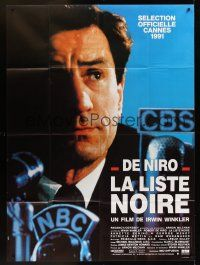 1b072 GUILTY BY SUSPICION French 1p '91 Robert De Niro by NBC microphone, Martin Scorsese