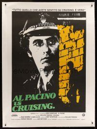 1g049 CRUISING linen Italian 1p '80 undercover cop Al Pacino pretends to be gay, different image!