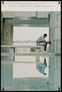 1j072 HANG TIME AT THE GETTY special 24x36 '02 great image of basketball star Kobe Bryant!