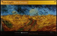 1j040 VAN GOGH'S VAN GOGHS 32x50 museum poster '99 masterpieces from the museum in Amsterdam!