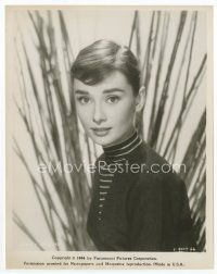 1m004 AUDREY HEPBURN 8x10.25 still '56 wonderful head & shoulders portrait of the beautiful star!