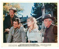 1m042 CAT BALLOU color 8x10 still '65 great image of sexy cowgirl Jane Fonda & cast!