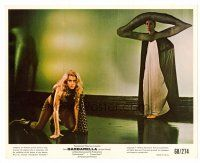 1m026 BARBARELLA color 8x10 still '68 Roger Vadim, sexiest Jane Fonda on hands & knees!