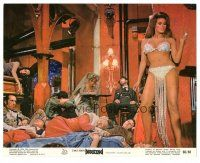 1m028 BEDAZZLED color 8x10 still '68 classic fantasy, sexy Raquel Welch in skimpy outfit!
