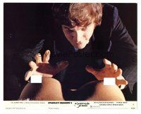 1m050 CLOCKWORK ORANGE color Eng/US 8x10 still '72 cool image of Malcolm McDowell grabbing breasts!