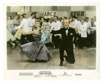 1m054 DADDY LONG LEGS color 8x10 still '55 Fred Astaire in tux dancing with Leslie Caron!