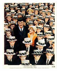 1m073 GOODBYE MR. CHIPS color 8x10 still '70 Petula Clark & Peter O'Toole with students!
