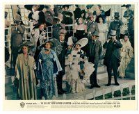 1m016 MY FAIR LADY color Eng/US 8x10 still '64 Rex Harrison w/cheering Audrey Hepburn!